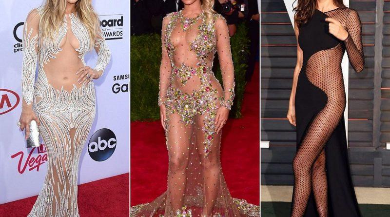 История «голых» платьев
