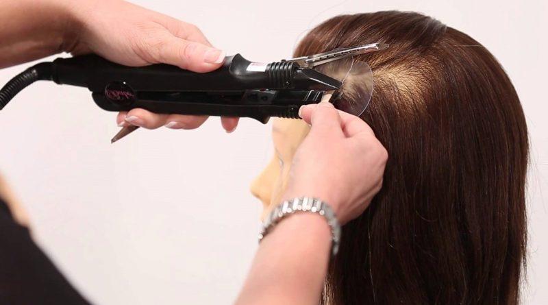 Что такое ультразвуковое наращивание волос?
