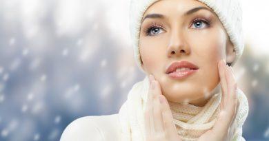 Уход за кожей тела зимой