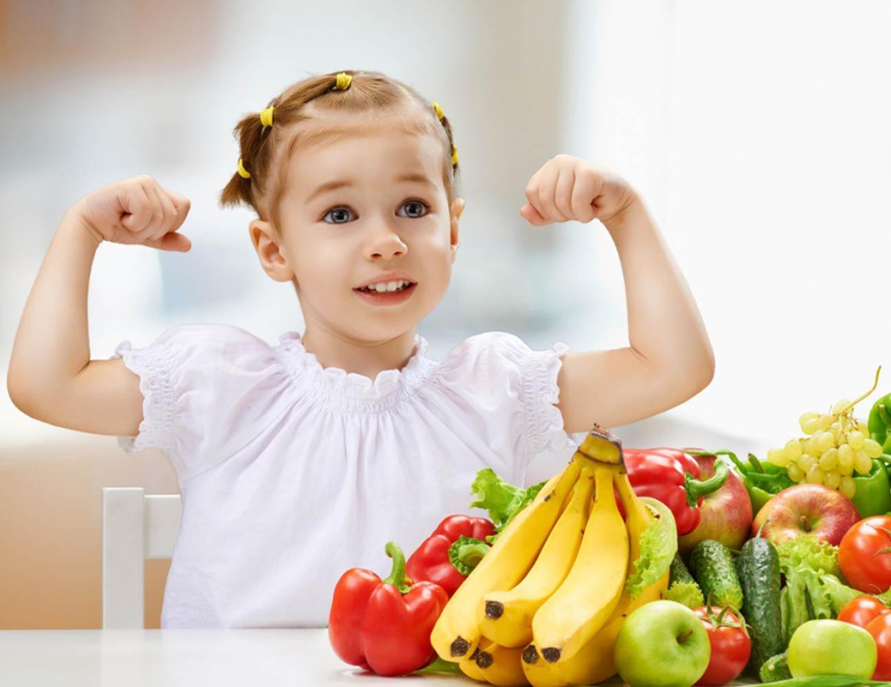 Дети спортивная диета