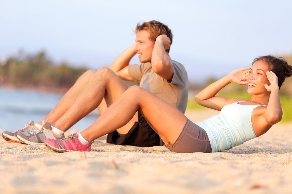 тренировки для подготовки к пляжному сезону