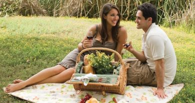 Ужин и романтика на природе