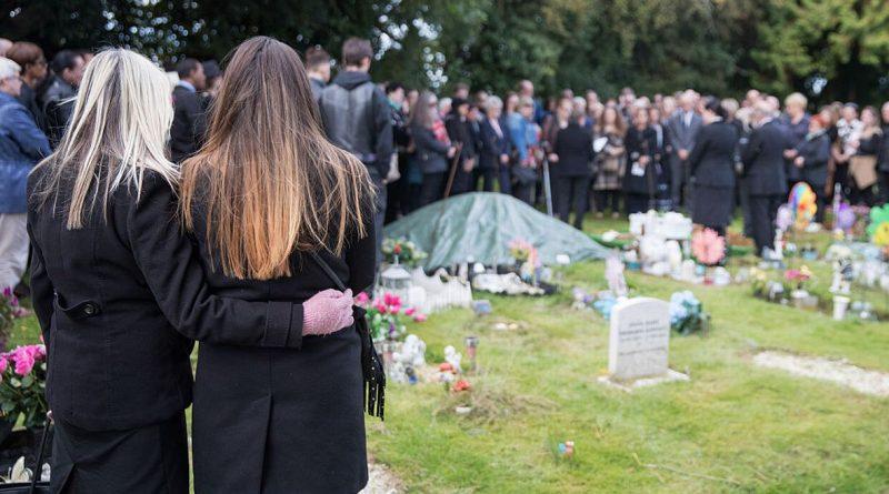 посещение похорон и кладбища